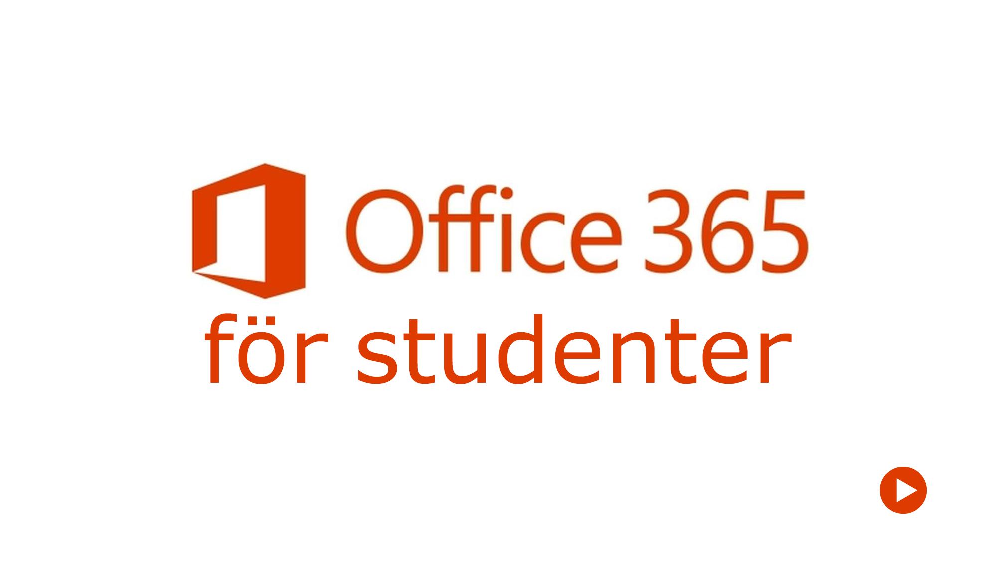 Office 365 för studenter
