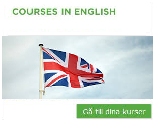 Fristående kurser/courses in english