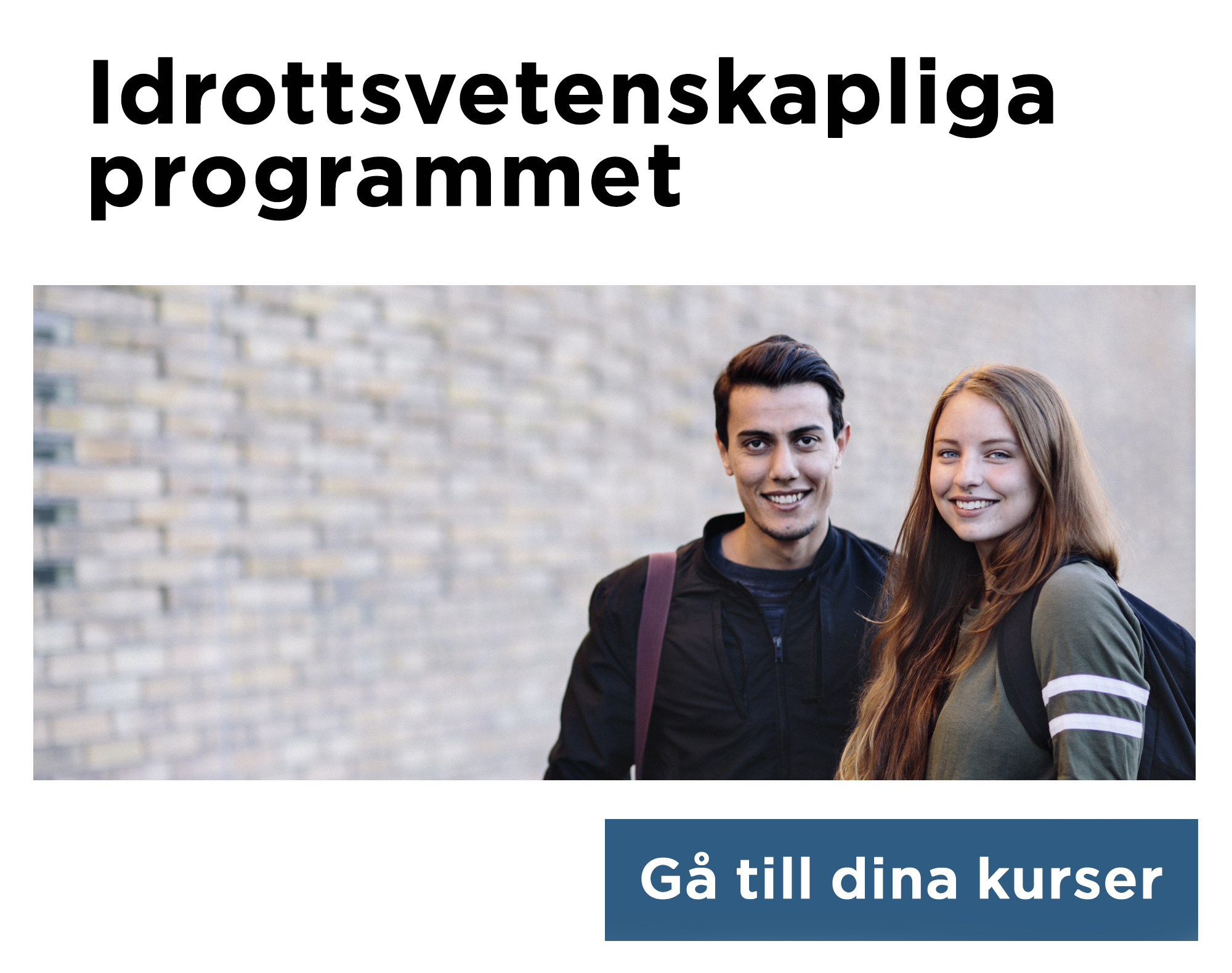 Idrottsvetenskapliga programmet